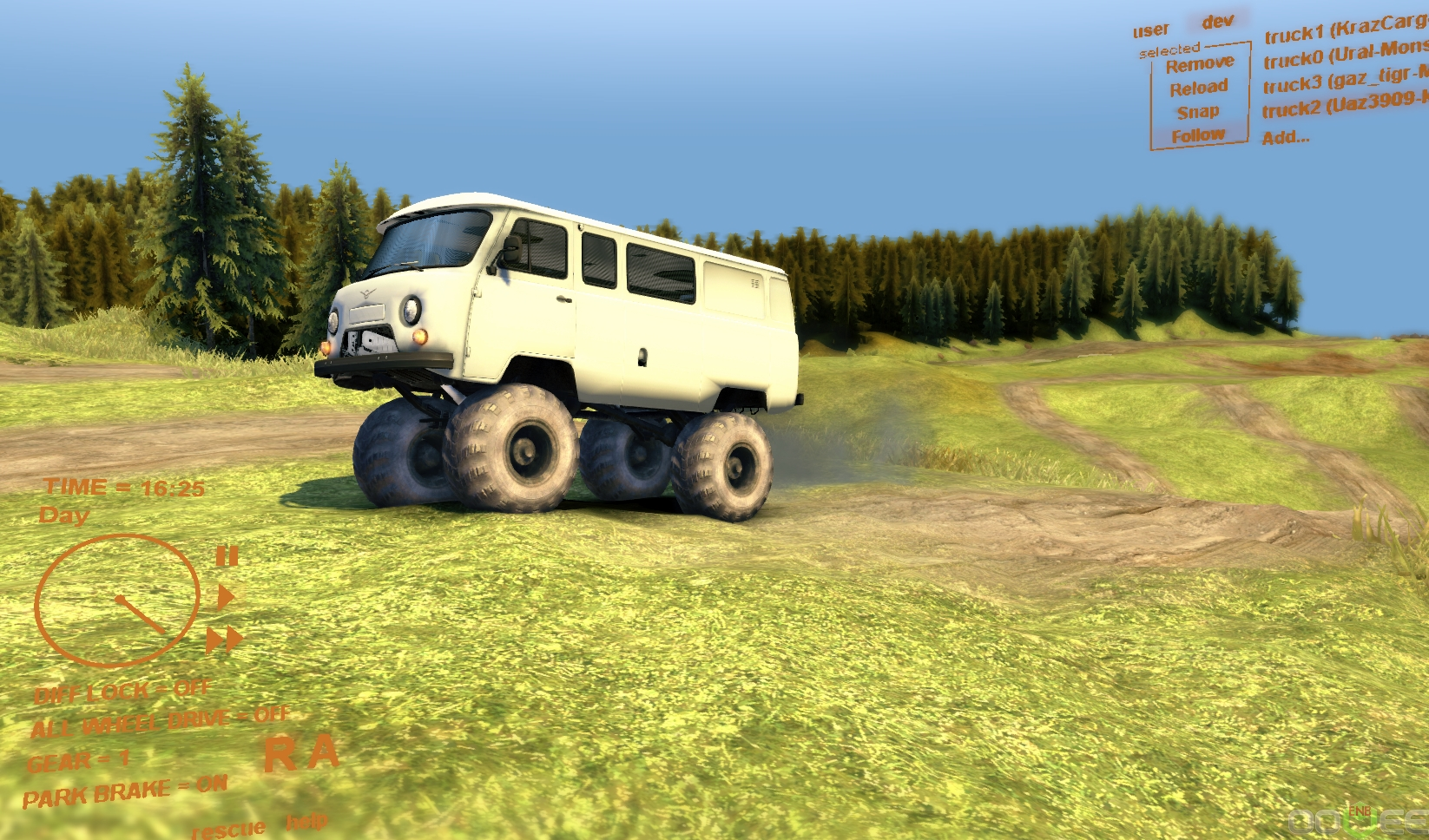 Spin Tires How To Use Mod Cars
