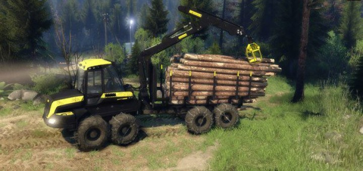 Spintires 2015 Hd Pc Game Play