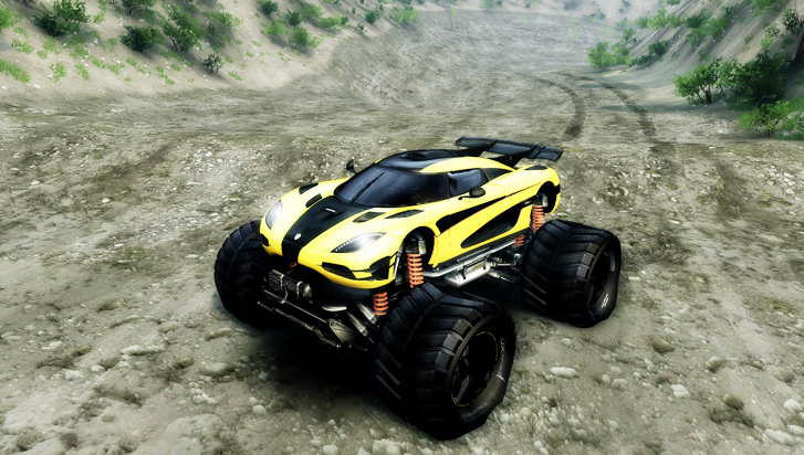 Koenigsegg-one1-Monster-truck