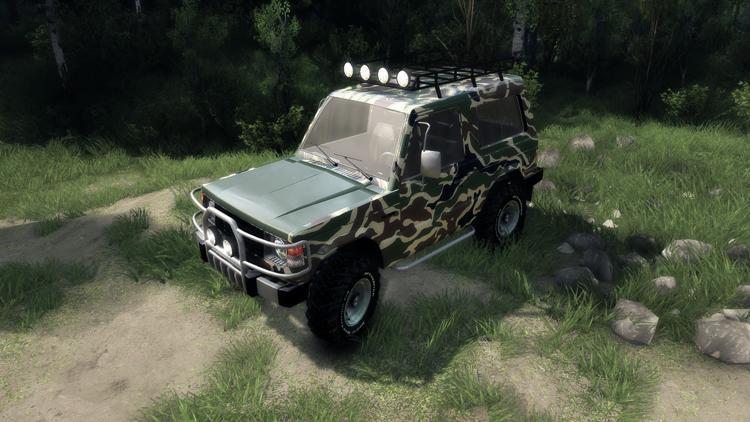 Mitsubishi-Pajero-I