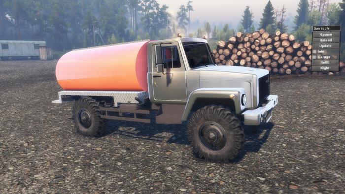 GAZ-3308-TRUCK