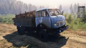 MAZ-509-Truck