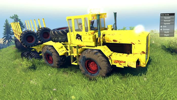 Tractors-Kirovets
