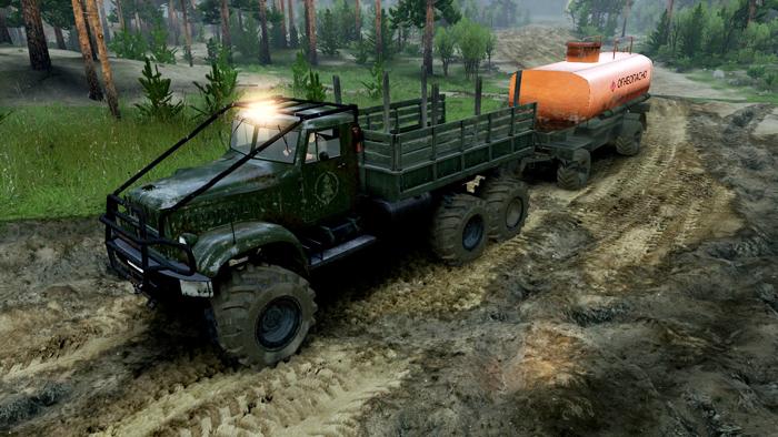 KrAZ-214-TRUCK