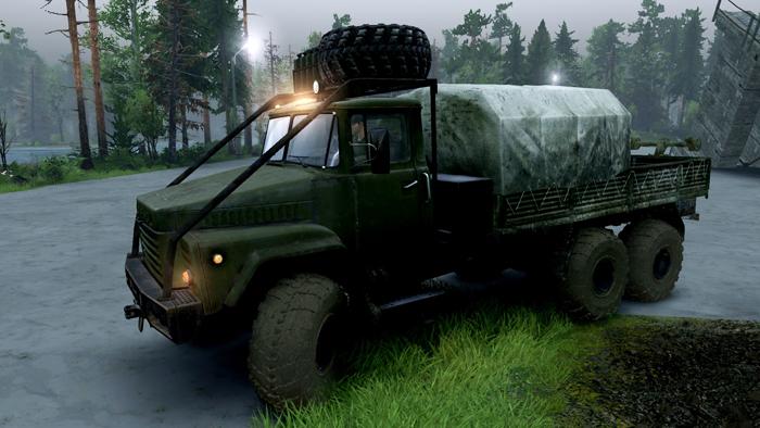 KrAZ-260-Truck