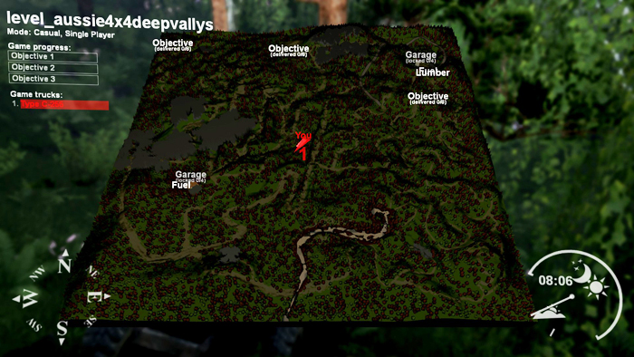 Aussie4x4-DeepVally-Map