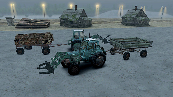 MTZ-82-Tractor