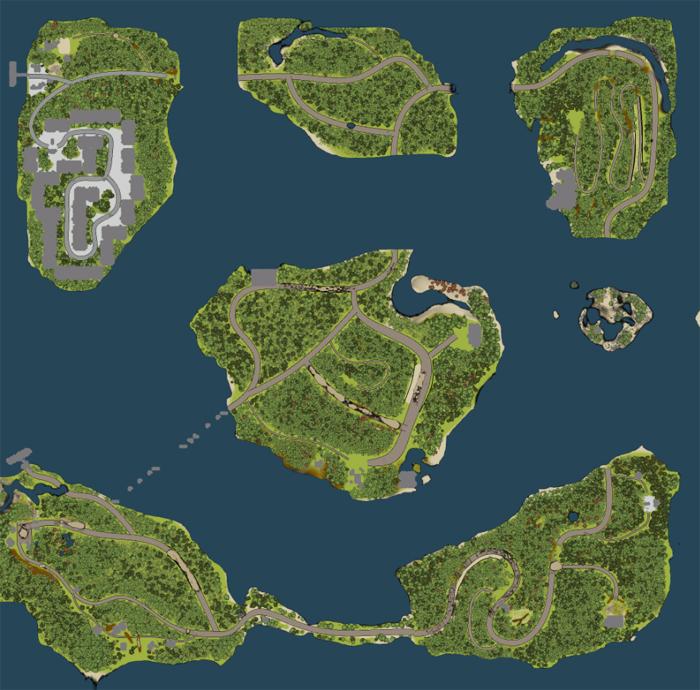 Ostrova-Map
