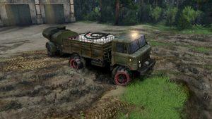 Gaz-66-Fuel-Transportation
