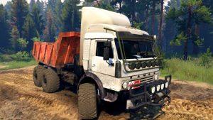 Kamaz-43114-White