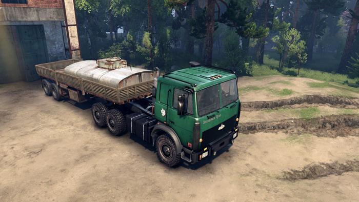 Maz-6317-Trcuk