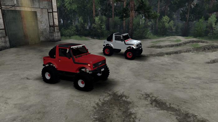 Suzuki-Samurai-jeeps