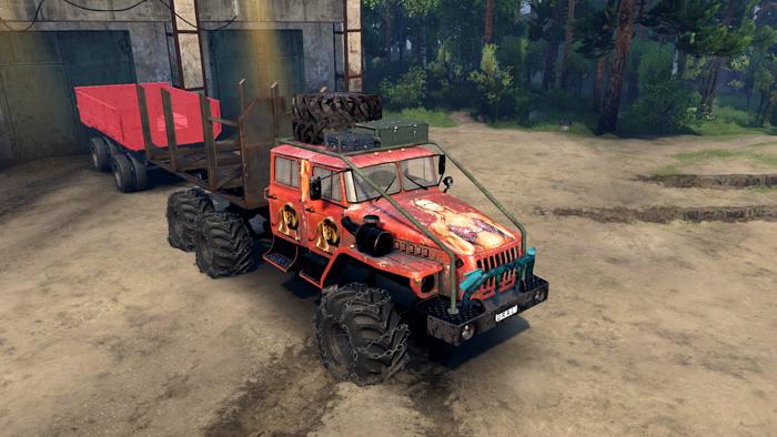Truck-Ural-4320