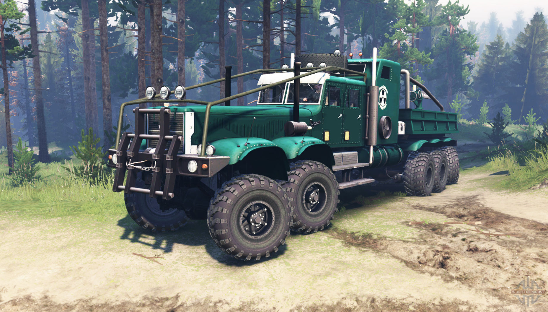 Kraz 255 Extended Truck Spintires 03 03 16 Spintires