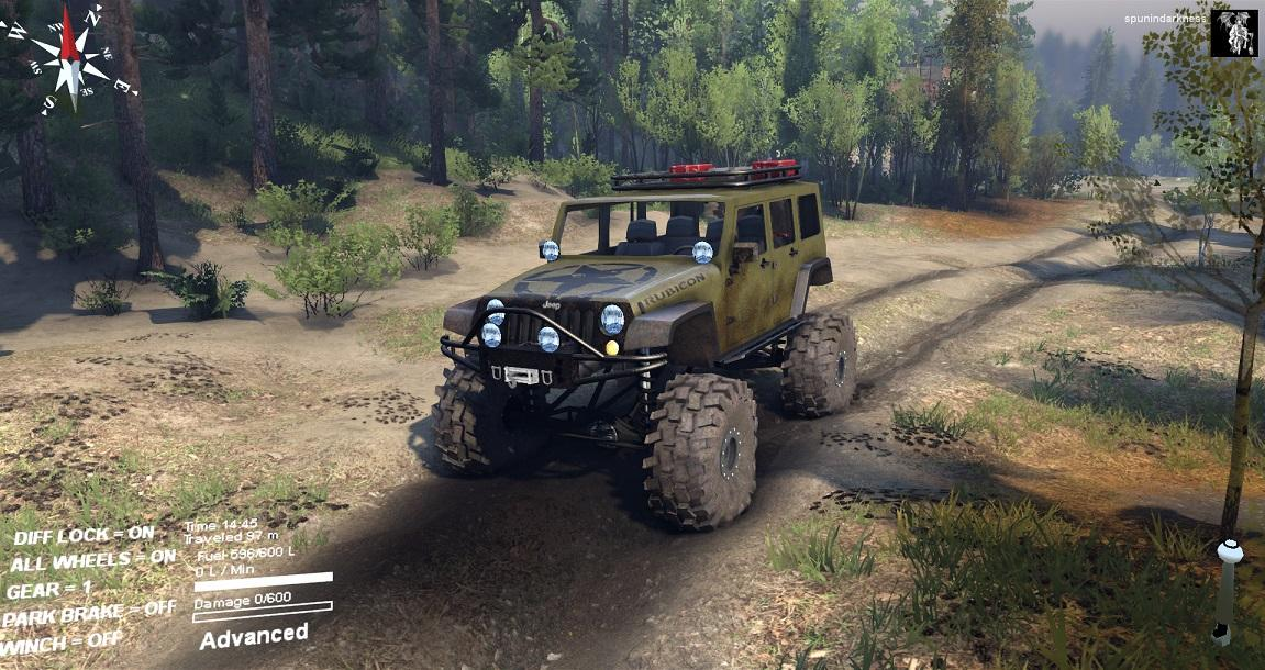 Sid Jeep Wrangler Unlimited 1 0 Spintires Mods