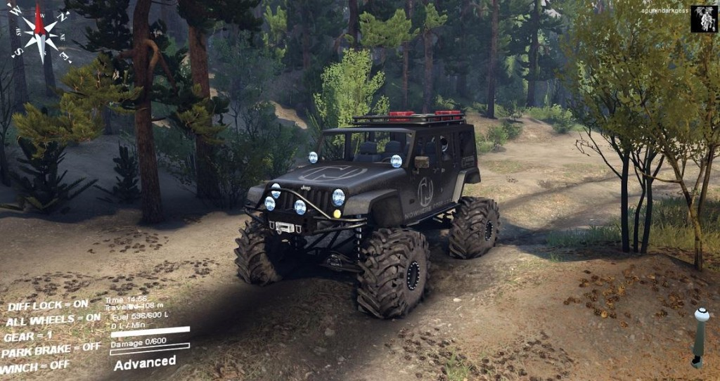 SID Jeep Wrangler Unlimited 1.0 • Spintires mods ...