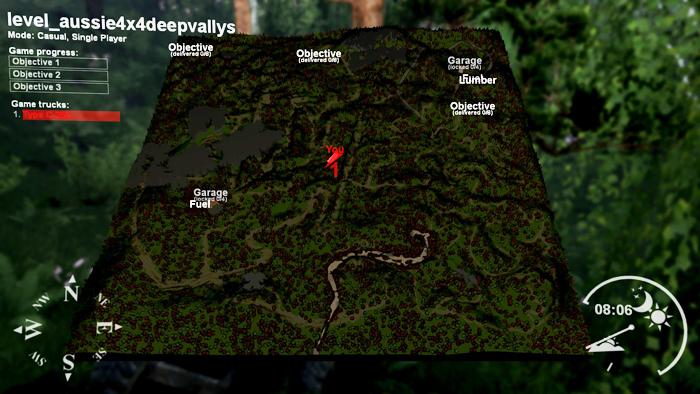 Aussie4x4-DeepVally-Map