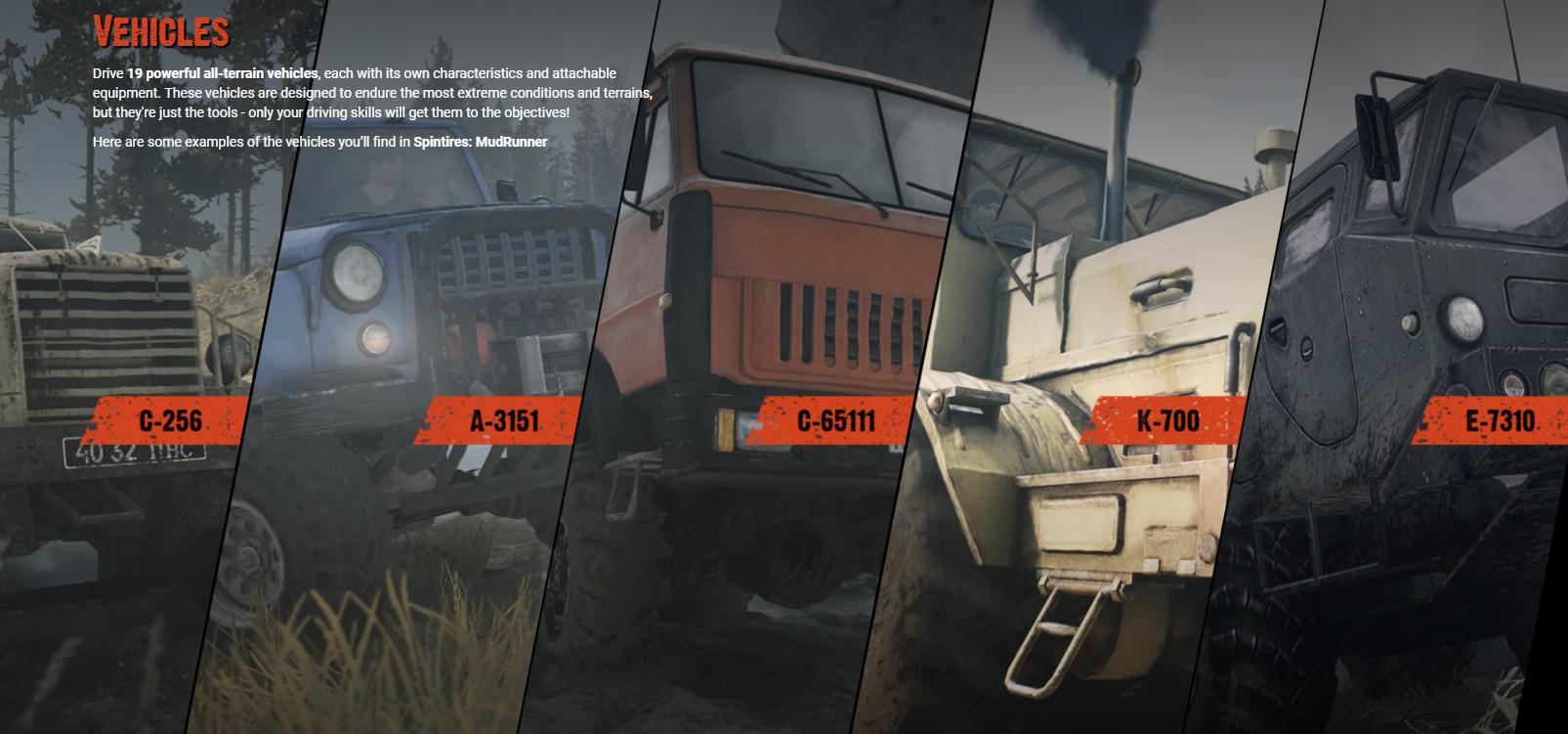 All Terrain Tires >> The Game Spintires: MudRunner • Spintires mods | Mudrunner ...