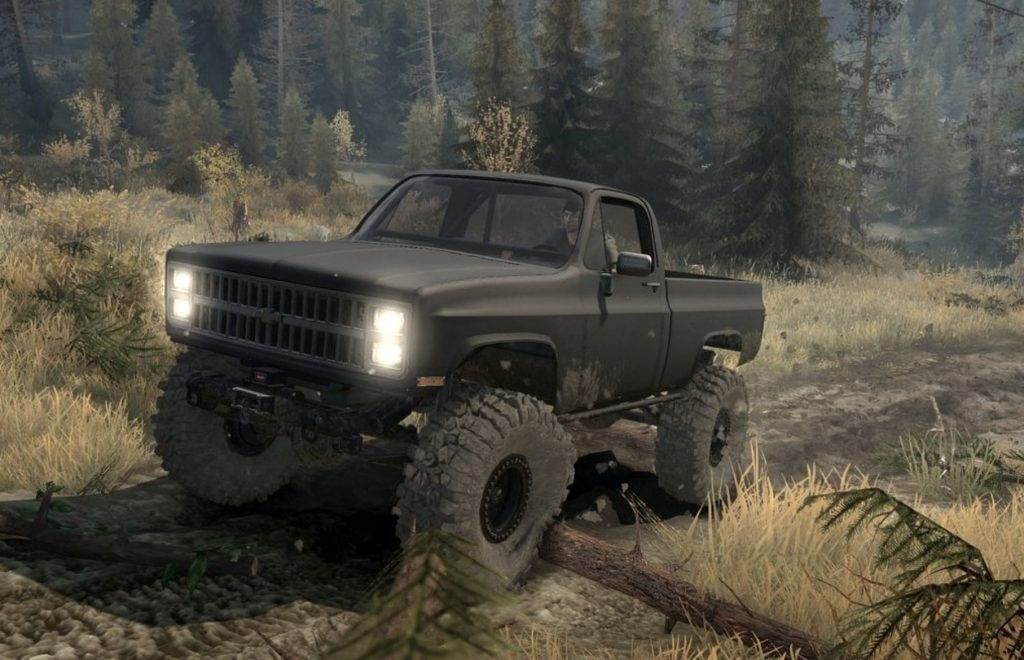 Truck Mud Tires >> Chevy K10 1982 v05.11.17 • Spintires mods | Mudrunner mods ...