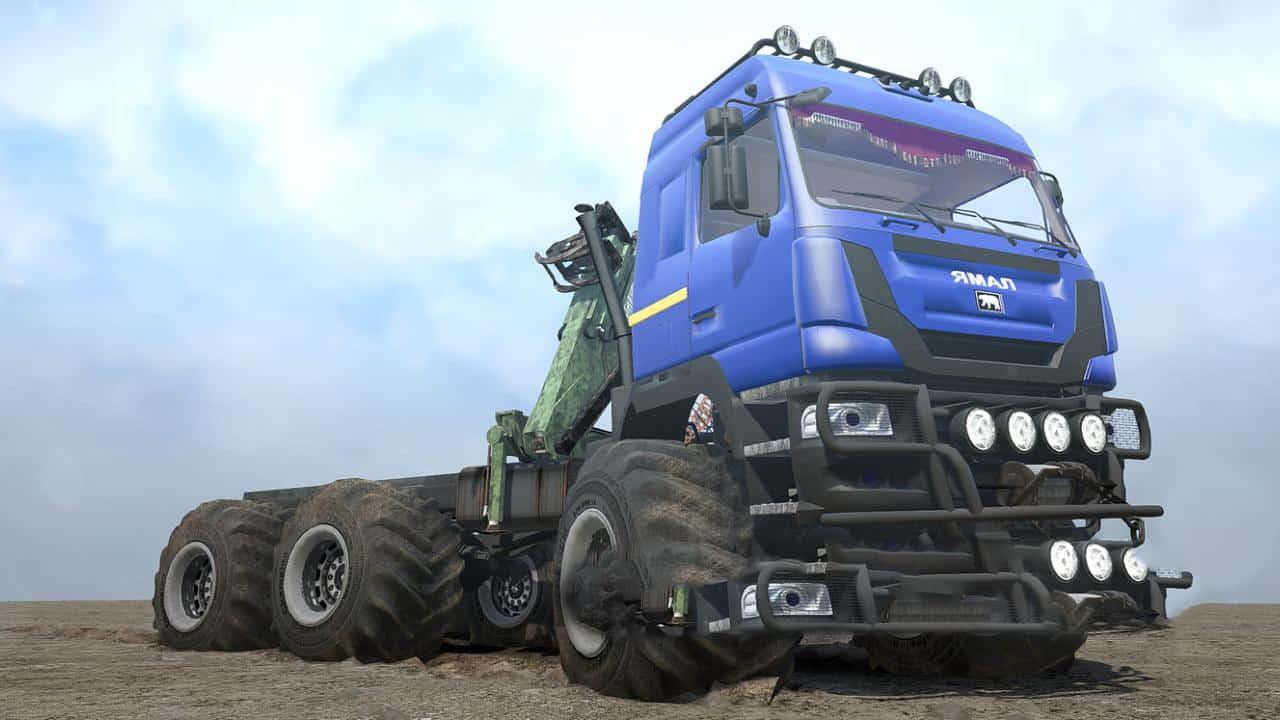 YAMAL B-6 L Truck v03 02 19 (TEST) • Spintires mods